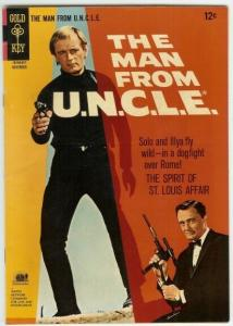 MAN FROM UNCLE (1965-1969 GOLD KEY) 9 F-VF PHOTOCOVER: COMICS BOOK