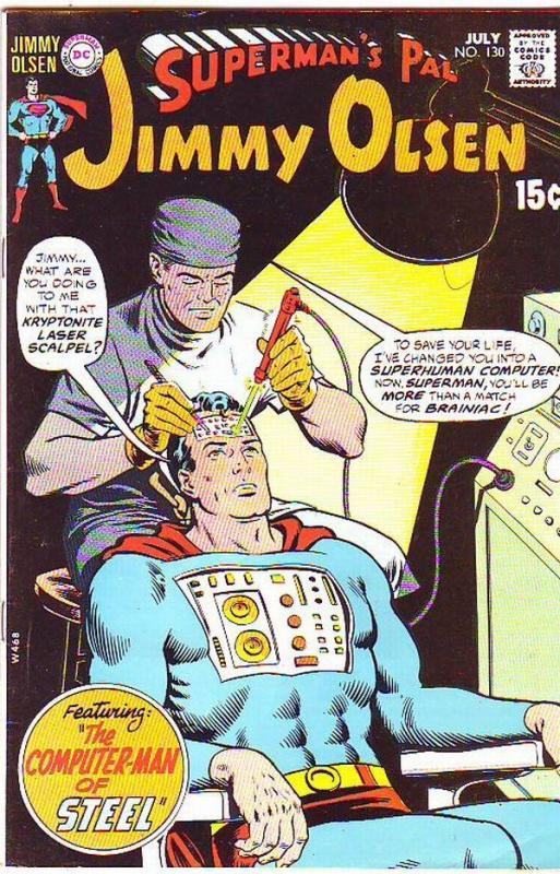 Superman's Pal Jimmy Olsen #130 (Jul-70) NM- High-Grade Jimmy Olsen