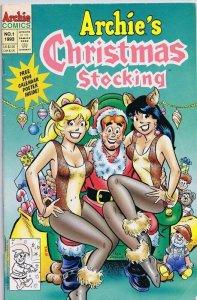 Archie's Christmas Stocking  #1 ORIGINAL Vintage 1993 Archie Comics GGA