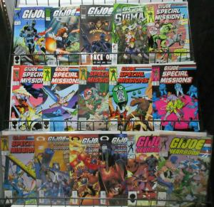 GI Joe Mini-Library Lot of 16Diff from Marvel + Image Special Missions!