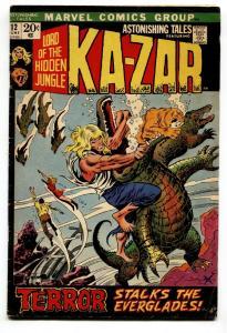 Astonishing Tales #12 comic book origin Barbara Morse/mockingbird VG