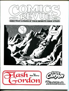 Comics Revue #126 1996-Dan Barry-Flash Gordon-Spider-man-Modesty Blaise-VF