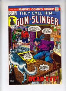 Gun-Slinger #3 (Jun-73) FN/VF Mid-High-Grade El Diablo, Outlaw