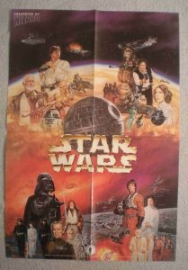 STAR WARS Promo Poster, DARTH VADER, 13x19, Unused, more in our stor
