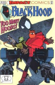 Black Hood (1991 series) #8, NM + (Stock photo)