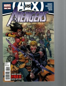 10 Marvel Comics Avengers #30-34 Age of Ultron 2 The Avengers 286 +37 38 39 J446