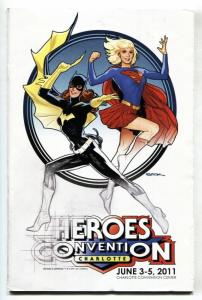Heroes Convention Program Book-Charlotte NC 2015-Ryan Sook Batgirl cvr
