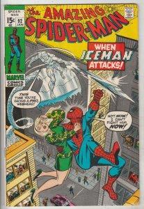 Amazing Spider-Man #92 (Jan-71) VF+ High-Grade Spider-Man