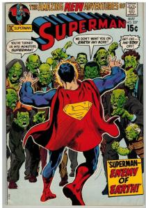 SUPERMAN 237 VG-F NEAL ADAMS COVER  May 1971 COMICS BOOK
