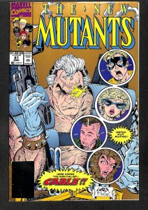 The New Mutants #87 (1990) 2nd print