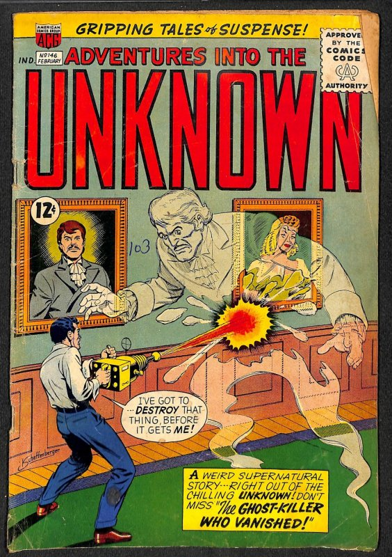Adventures into the Unknown #146 (1964)