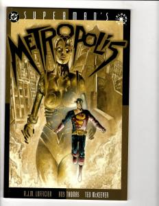4 DC Comics Superman Metropolis + Secret Identity + Special 1 + Yellow Sun CR22