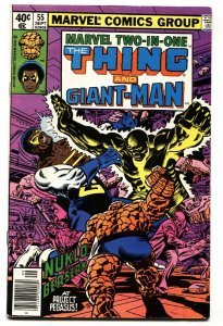 MARVEL TWO-IN-ONE #55 First new GAINT-MAN-1979-comic book