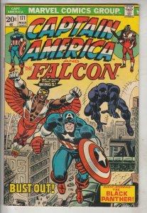 Captain America #171 (Mar-74) VG/FN Mid-Grade Captain America