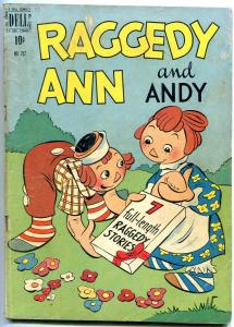 RAGGEDY ANN AND ANDY-FOUR COLOR COMICS #262 1950-DELL VG