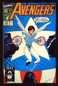 The Avengers #340 (1991)