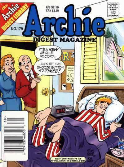 Archie Digest Magazine #179 VF; Archie | save on shipping - details inside