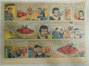 Superman Sunday Page #1119 by Wayne Boring from 3/26/1961 Size ~11 x 15 inches