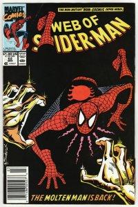 Web Of Spider-Man #62 (Marvel, 1990)