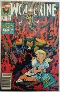 Wolverine #39 NEWSSTAND (VF+)(1991)