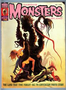 FAMOUS MONSTERS OF FILMLAND #116-1st FAMOUS MONSTERS CONVENTION ISSUE-1975- VG