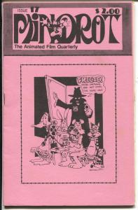 Mindrot #17 1980-Animated Film Quarterly-cartoon review-Color Rhapsodies-FN