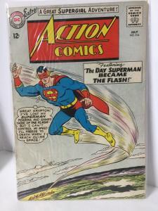 Action Comics 314 2.0 Gd Good DC Comics SA