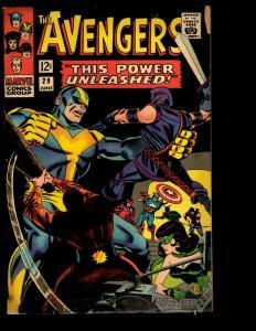 Avengers # 29 VG/FN Marvel Comic Book Hulk Thor Iron Man Captain America NE3