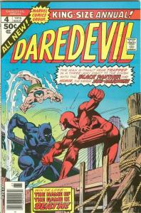 Daredevil Annual #4 VF; Marvel | save on shipping - details inside