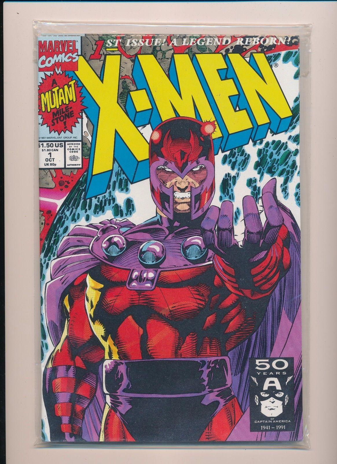 Marvel X Men 1st Issue A Legend Reborn Variant 1 Near Mint Sru454 Hipcomic