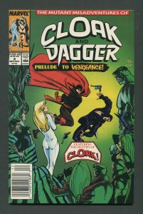 Cloak & Dagger #8 / 9.6 NM+  Newsstand December 1989
