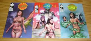 TAP #1-3 VF/NM complete series - charles paul smith - promethean studios comics