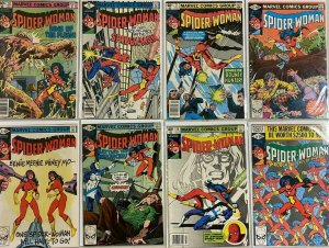 Spider-man 1st series From:#18-49 21 different 6.0 FN (1979-83)