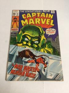 Captain Marvel 19 Fn- Fine- 5.5 Marvel Comics Silver Age
