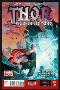 Thor God of Thunder #21  (Jun 2014 Marvel)  9.2 NM-