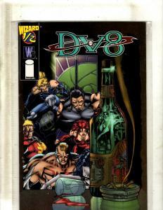 13 DV8 Image Comics Books #1/2 1 2 3 3 8 9 10 14 15 16 31, Annual #1 J344