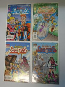 Archie's Super Teens set #1-4 8.0 VF (1994)