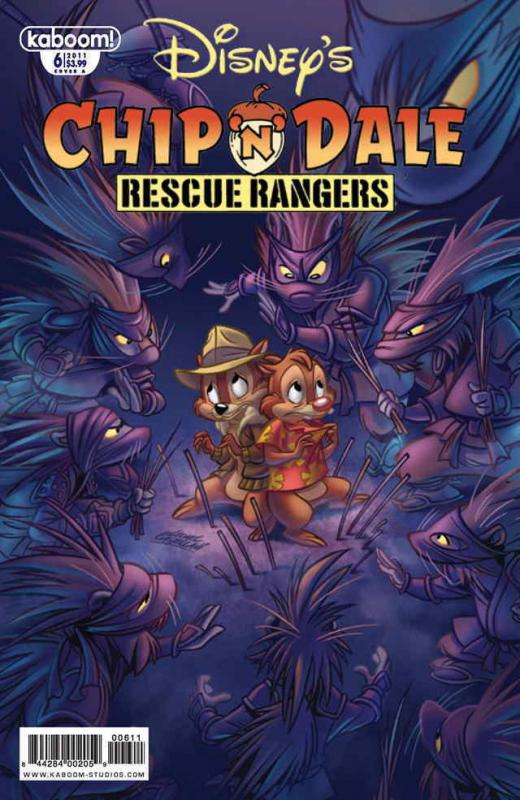 Chip 'N' Dale Rescue Rangers (2nd Series) #6A FN; Boom! | save on shipping - det