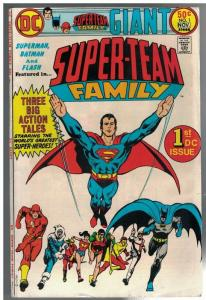 SUPER TEAM FAMILY 1 VG-F Nov. 1975