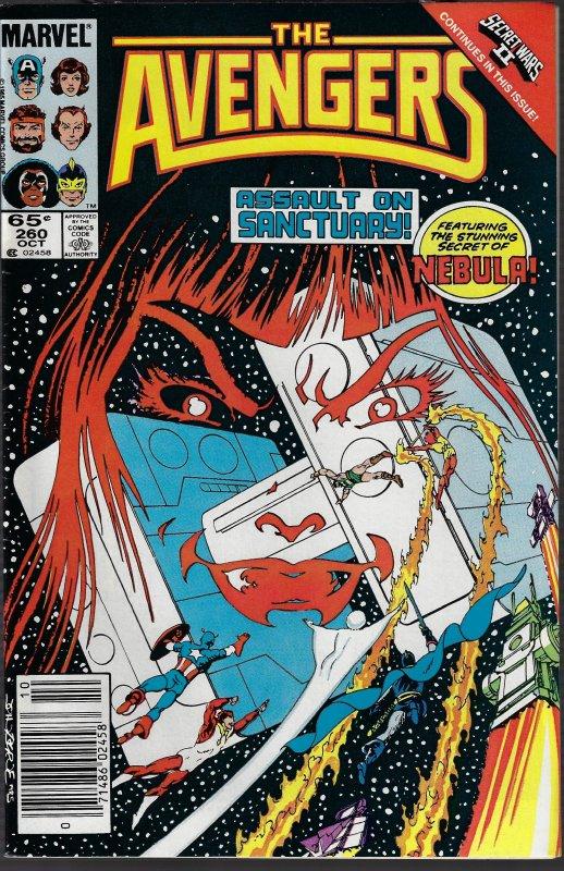 Avengers #260 (Marvel, 1985) VF