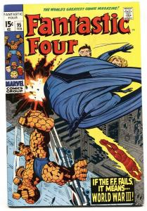FANTASTIC FOUR #95 THE THING-JACK KIRBY MARVEL 1970 VF