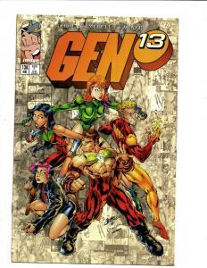 Lot of 10 Gen 13 Comic Books #13A 17 18 64 65 66 70 75 76 77 J344