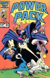 Power Pack #26 FN; Marvel   save on shipping - details inside
