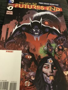 DC Futures End #0 Mint Hot The New 52