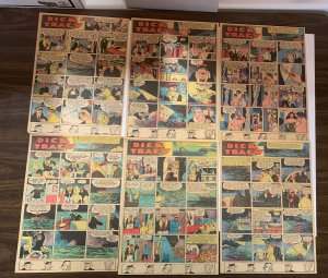 Dick Tracy Newspaper Comics 1938 Set Of 12 Great Shape Sundays