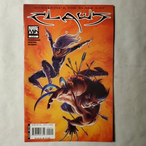 Claws 2 Very Fine/Near Mint Cover by Joseph Micheal Linsner