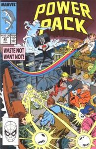 Power Pack (1984 series) #49, VF (Stock photo)