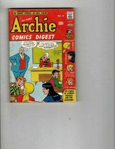 4 Books Archie Comics Digest 4 48 Saroyan Stories Behind the Curtain Hazard JK33