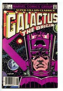 Super-Villain Classics #1 Galactus origin issue - F/VF