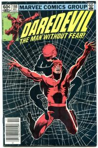 Daredevil #188 1982- Frank Miller-1st Stone, Claw & Shaft NM-